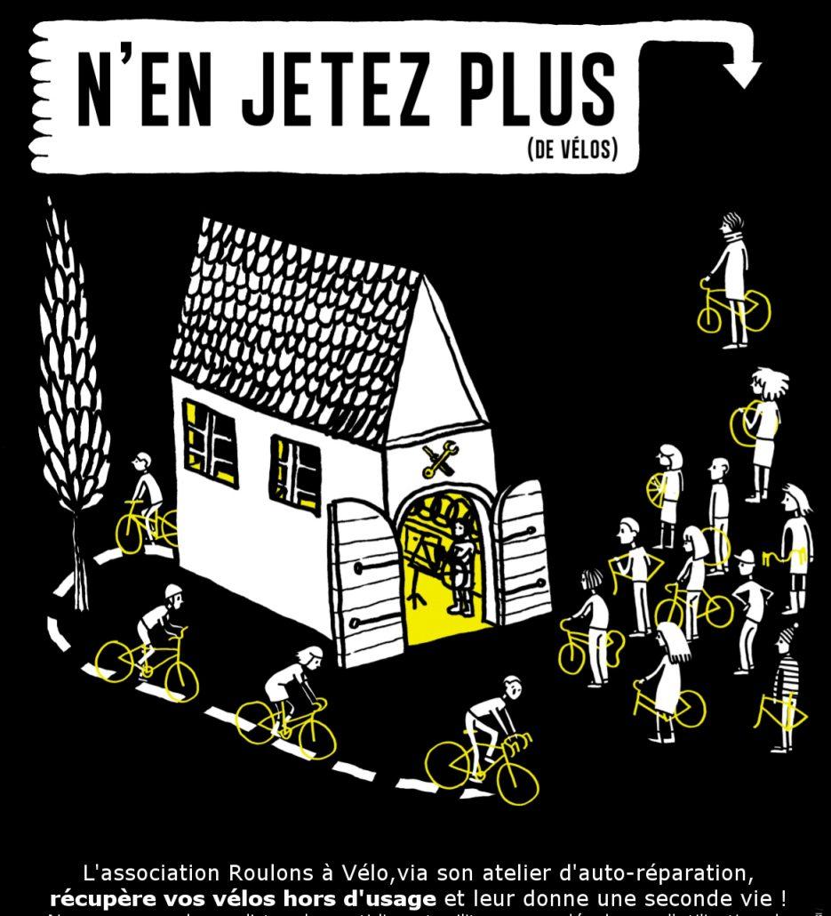 Affiche dons de vélo